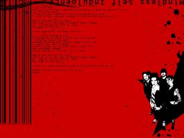 MSI -Mindless Self Indulgence- by RattWallpapers