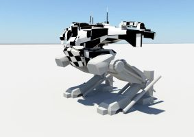 Heavy3DMechConcept by WildlyInappropriate