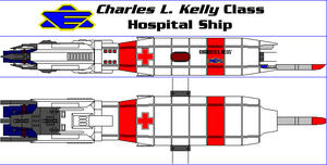 Charles L. Kelly Class Hospital Ship by MarcusStarkiller