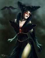 Blood Raven Queen by Nosfer