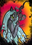 Queen Chrysalis by prettyism