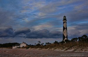 April Dusk Cape Lookout by pewter2k