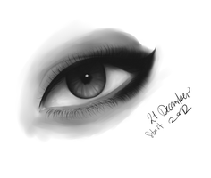 An eye for an Eye WIP by MaekoHikari