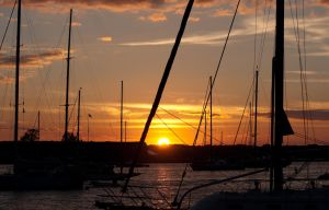 Sunset in the Anchorage by cranberryschnapps