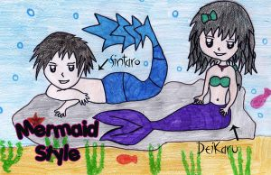 Mermaid Style by deikaru