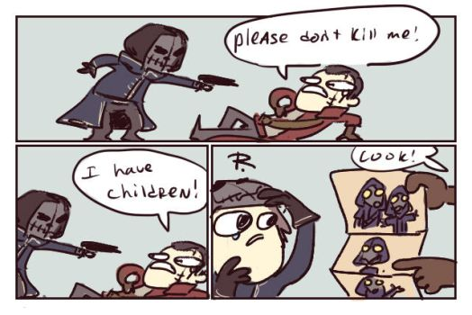 dishonored, doodles 28 by Ayej