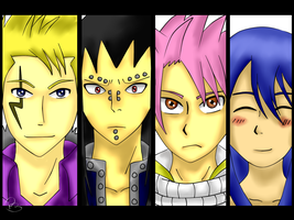 FAIRY TAIL DRAGON SLAYERS by nikkinova123