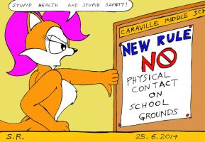 Suzette Complains About New School Rules by Megamink1997