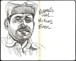Sketchbook - Friday night quickie by keiross