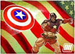 Cap Shield Toss by Dan Hale by thedanhale