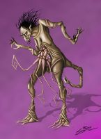 Wilbur Whateley Concept by SamTremain91