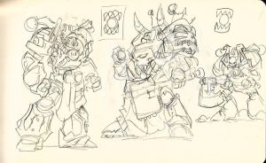 World Eaters sketch by NachoMon