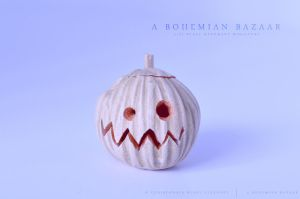 crazy jack o'lantern is crazy by abohemianbazaar