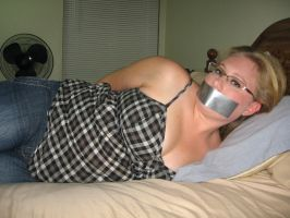Tape Gagged 5 by Matt162