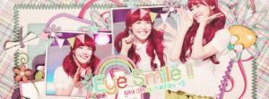 [140601] [Cover facebook ] Eye smile by JulieMin