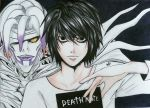 L Lawliet - Death Note by Sekai-Mika