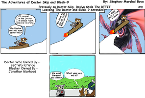 The Adventures of Doctor Skip Strip 11 by GreedLin