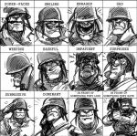 Soldier Expressions Meme by KGBigelow