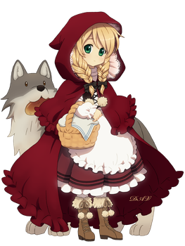 Little Red Riding Hood by DAV-19