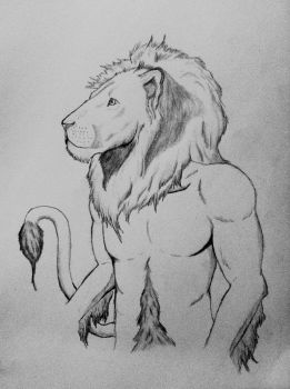 Lion Shifter by Meowzers93