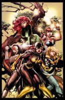 Birds of Prey - Colors by nahp75