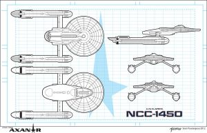 U.S.S. Ares NCC-1450 by stourangeau