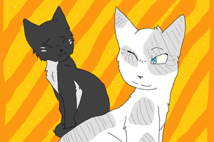Smallpaw and Ivypool by XxHoneywingxX