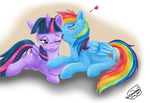 .:MLP:. TwiDash - be my princess by Xx-Syaoran-kun-xX