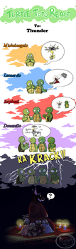 Turtle Tots React - Thunder by Myrling