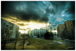 Urban sunrise by Jurnov