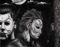 Michael Myers 3 by DirtyD41