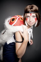 Princess Mononoke - Princess of the Forest by EveilleCosplay