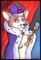 The King of Corgshire by marymouse