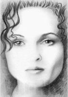 Helena Bonham Carter mini-portrait by whu-wei