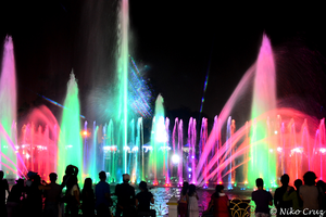 Colorful Fountain by nikocruz