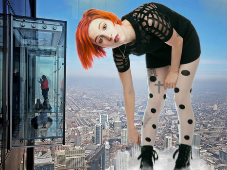 Hayley In The City by gts47
