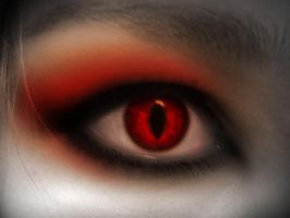 Evil eye by AmzyBabes
