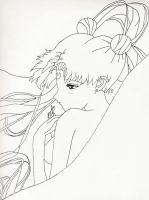 Usagi Sailor moon Line Art by Pure-White-Angel22