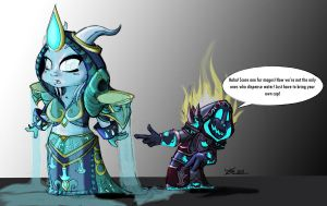 Silly Priest... Coloured by Kristinus-Maximus