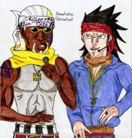 Rapper Killer B and Gajil by DevilishMirajane