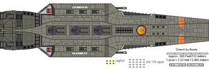 Seaxneat-class Battlecruiser by Itsomi