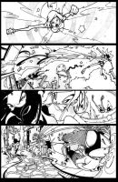 Pink Power 2 page 10 Lineart by HCMP