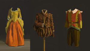 Costume studies by novac