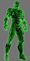 Green Lantern Tony Stark (Energy Suit) by Lord-Lycan