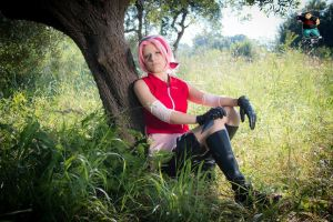 Sakura Haruno cosplay by Makicreazion