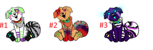 Point Puppy adopts CLOSED by HazeAdopts