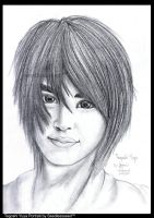 Tegoshi Yuya Portrait by seedlessseed