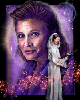 Carrie Fisher Tribute by Elswyse