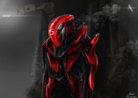 THE Racing EXO-SUIT DESIGN by nobody00000000