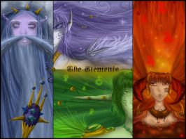 The Elements- Wallpaper by Sadir89